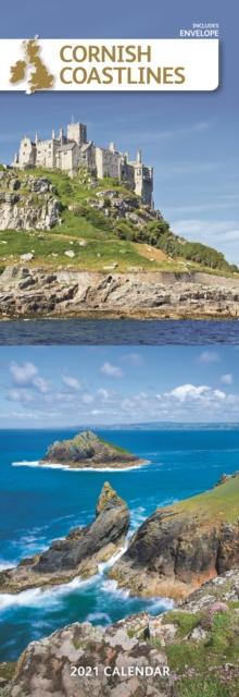 Cornish Coast Slim Calendar 2021