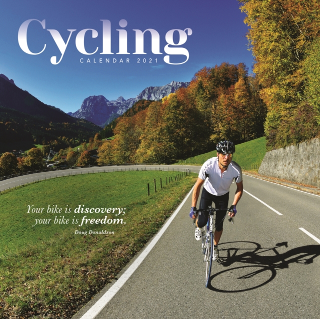 Cycling Square Wall Calendar 2021