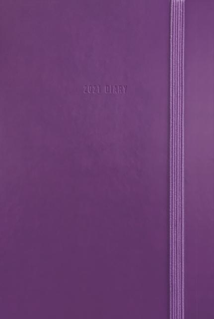 Fashion Diary Purple Soft Touch Pocket Diary 2021