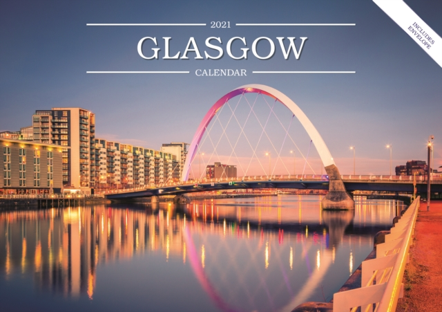 Glasgow A5 Calendar 2021