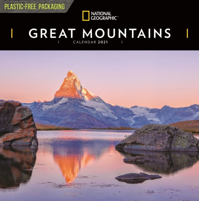 Great Mountains National Geographic Square Wall Calendar 2021