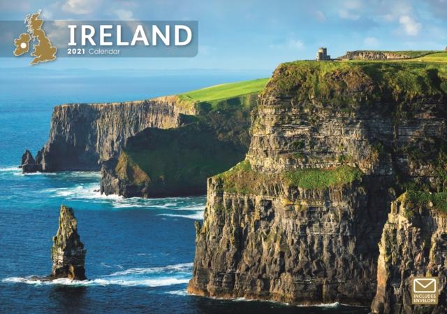 Ireland Eire A4 Calendar 2021