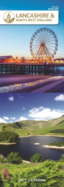 Lancashire & The North West Slim Calendar 2021