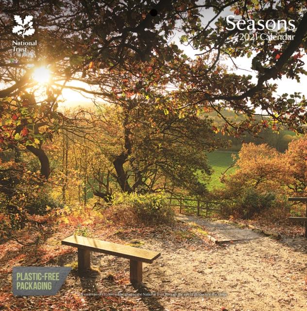 National Trust Seasons Square Wall Calendar 2021