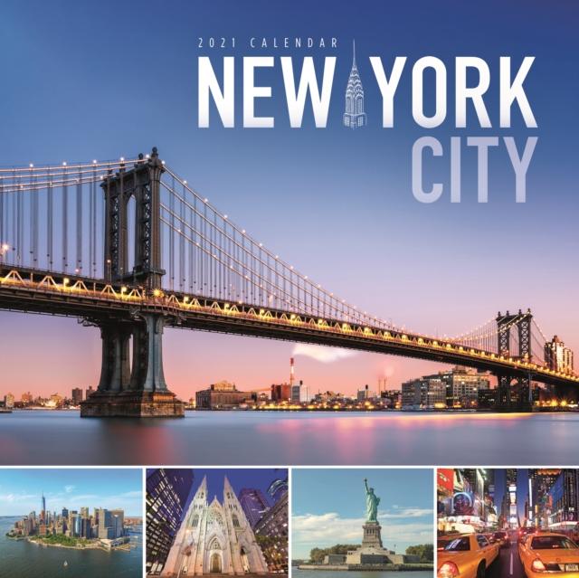 New York Square Wall Calendar 2021