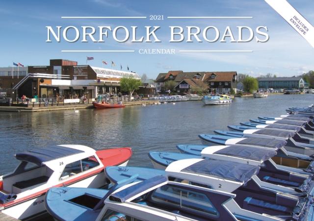 Norfolk Broads A5 Calendar 2021