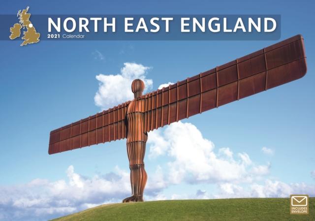 North East England A4 Calendar 2021