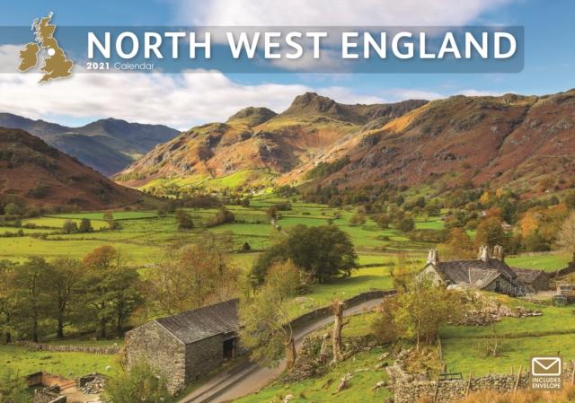 North West England A4 Calendar 2021