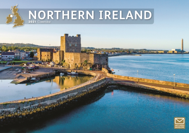 Northern Ireland A4 Calendar 2021