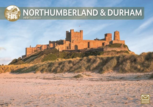 Northumberland & Durham A4 Calendar 2021