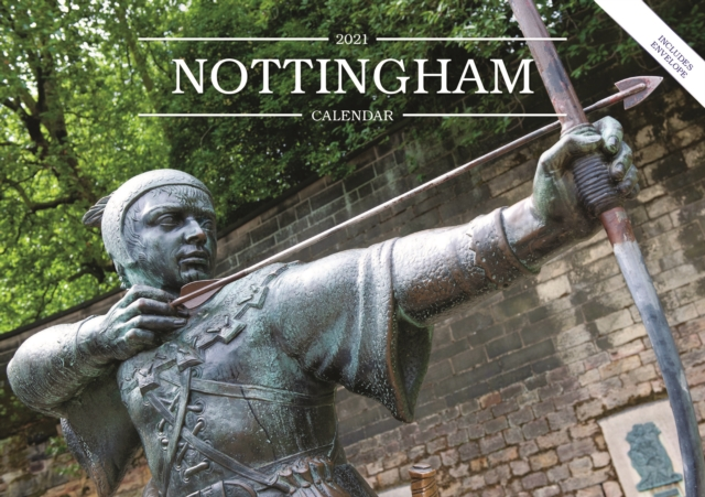 Nottingham A5 Calendar 2021