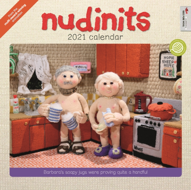 Nudinits Square Wall Calendar 2021