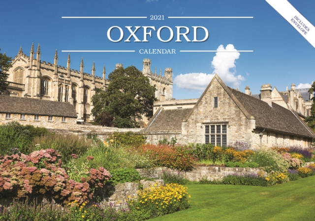 Oxford A5 Calendar 2021