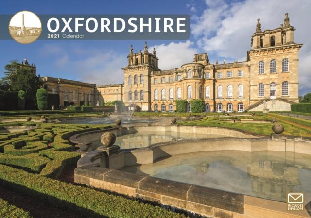 Oxfordshire A4 Calendar 2021