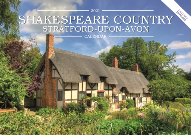 Shakespeare Country, Stratford-Upon-Avon A5 Calendar 2021