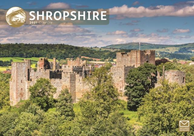 Shropshire A4 Calendar 2021