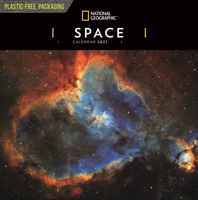 Space National Geographic Square Wall Calendar 2021