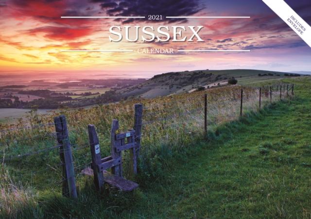 Sussex A5 Calendar 2021
