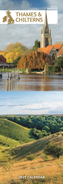 Thames & Chilterns Slim Calendar 2021