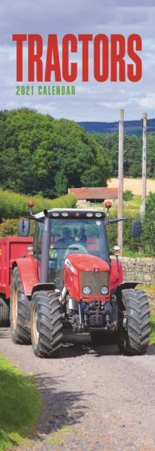 Tractors Slim Calendar 2021