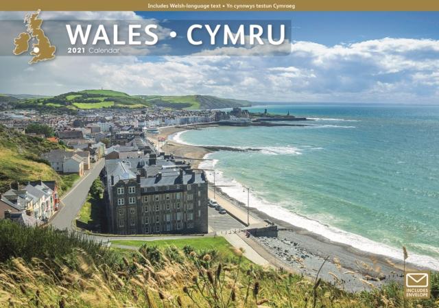 Wales A4 Calendar 2021