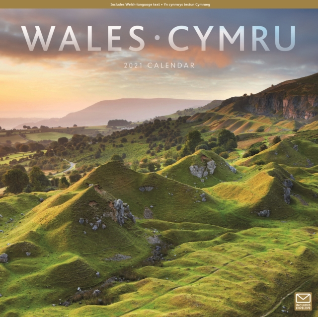 Wales Square Wall Calendar 2021