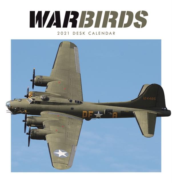 War Birds Easel Desk Calendar 2021