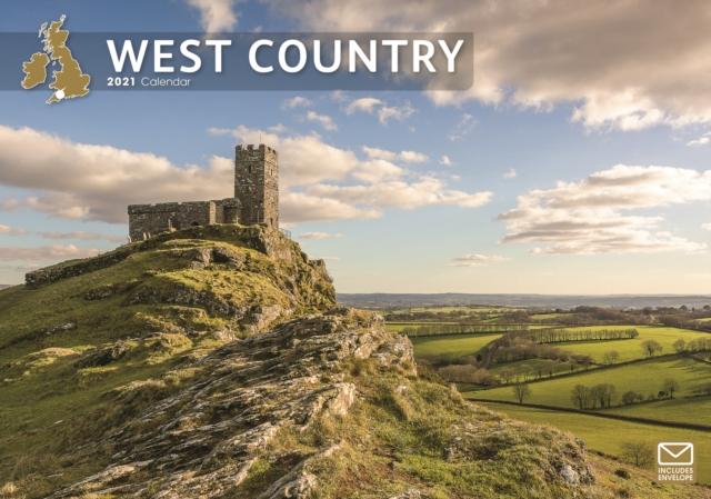 West Country A4 Calendar 2021
