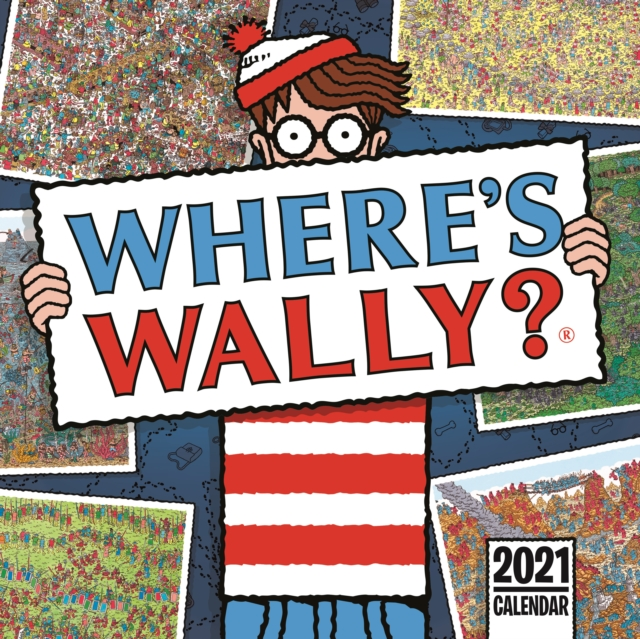 Where's Wally Square Wall Calendar 2021
