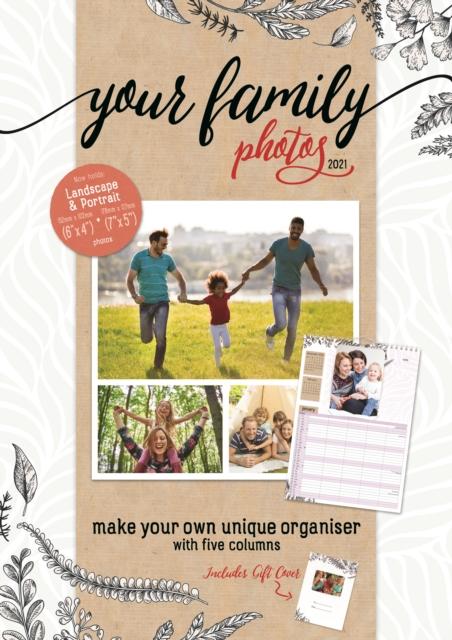 Your Family Photos A3 Planner Calendar 2021