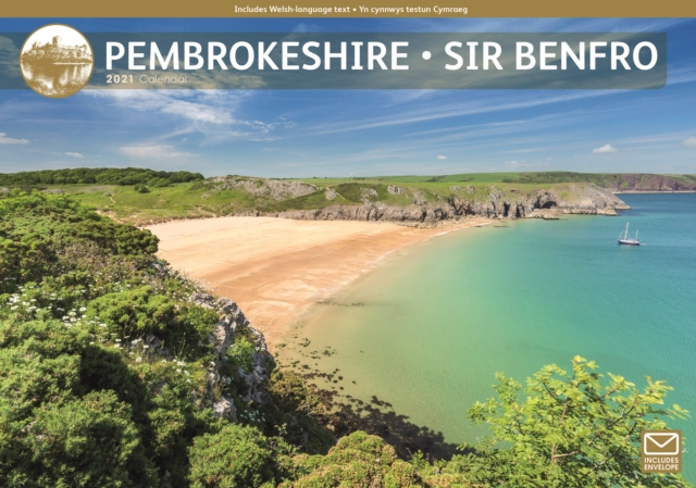 Pembrokeshire A4 Calendar 2021