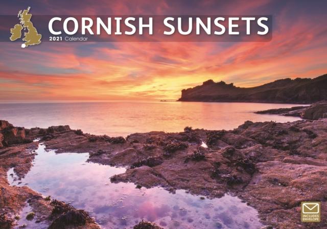 Cornish Sunsets A4 Calendar 2021