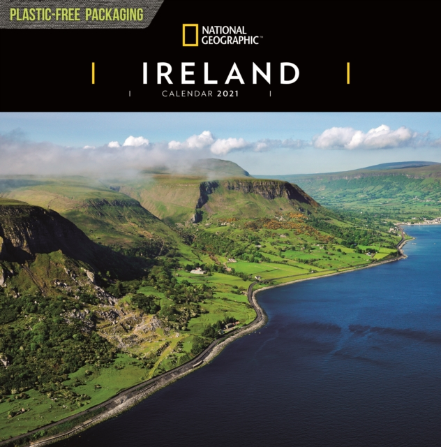 Ireland National Geographic Square Wall Calendar 2021