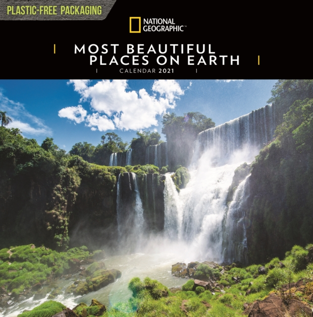 Most Beautiful Places on Earth National Geographic Square Wall Calendar 2021