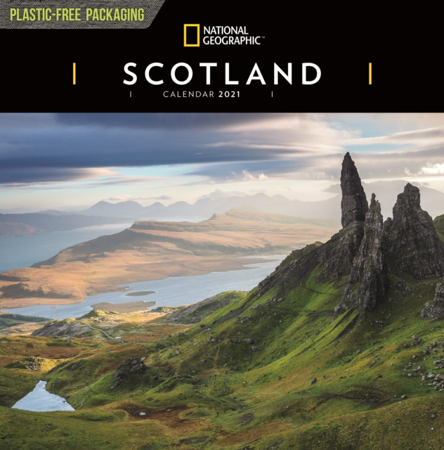 Scotland National Geographic Square Wall Calendar 2021