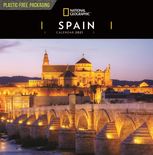 Spain National Geographic Square Wall Calendar 2021