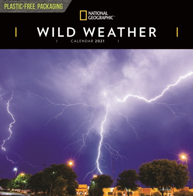 Wild Weather National Geographic Square Wall Calendar 2021