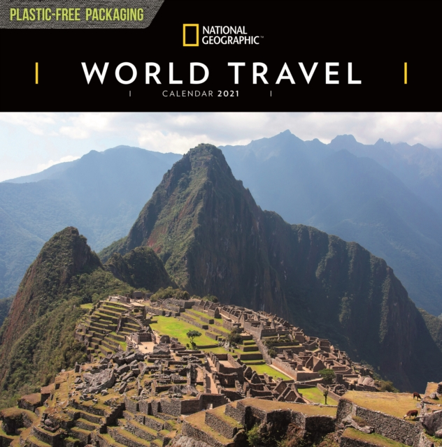 World Travel National Geographic Square Wall Calendar 2021