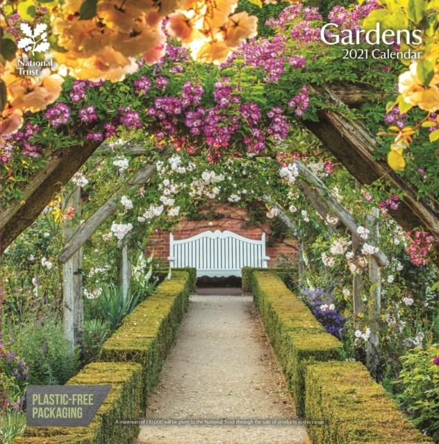 National Trust Gardens Square Wall Calendar 2021