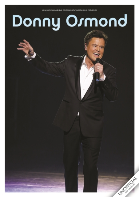 Donny Osmond Unofficial A3 2021