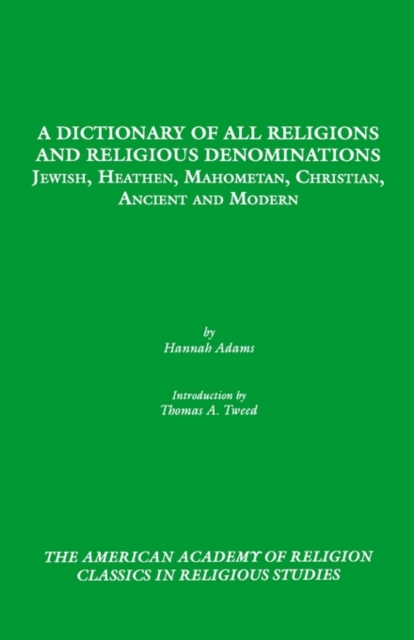 Dictionary of All Religions and Religious Denominations