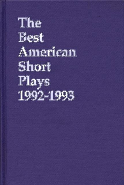 Best American Short Plays 1992-1993