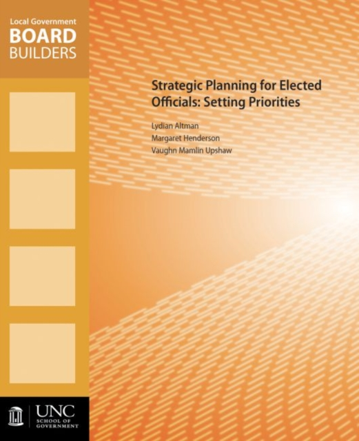 Strategic Planning for Elected Officials