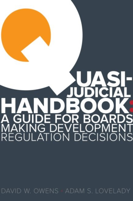 Quasi Judicial Handbook