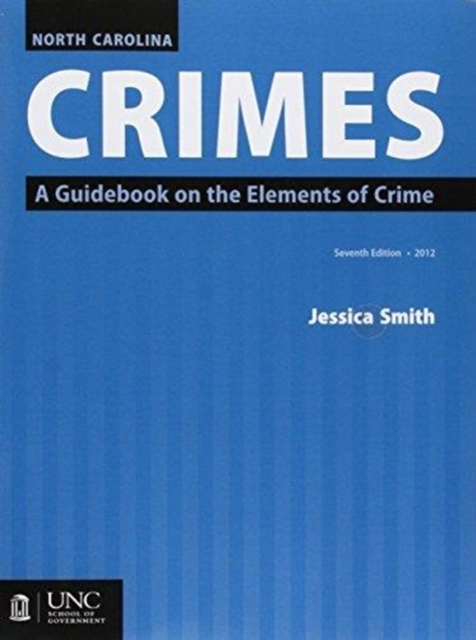 North Carolina Crimes and 2017 Supplement Bundle