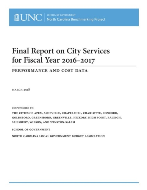 Final Report on City Services for Fiscal Year 2016-2017