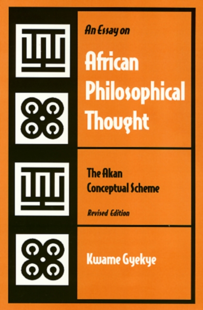 Essay on African Philosophical Thought