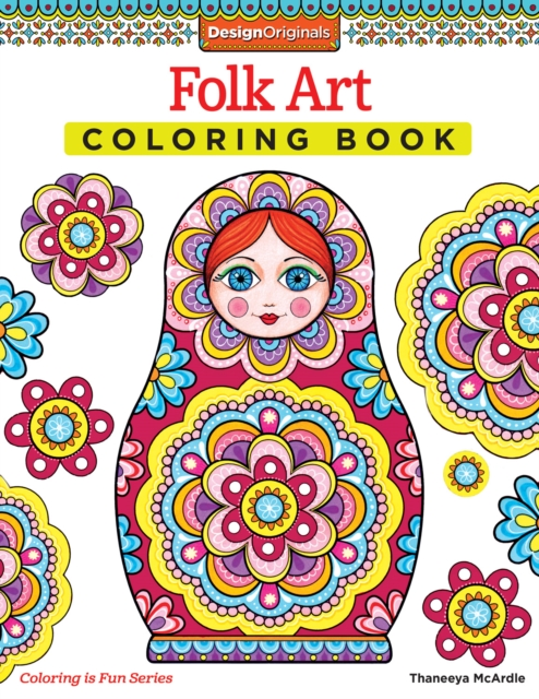 Folk Art Coloring Book