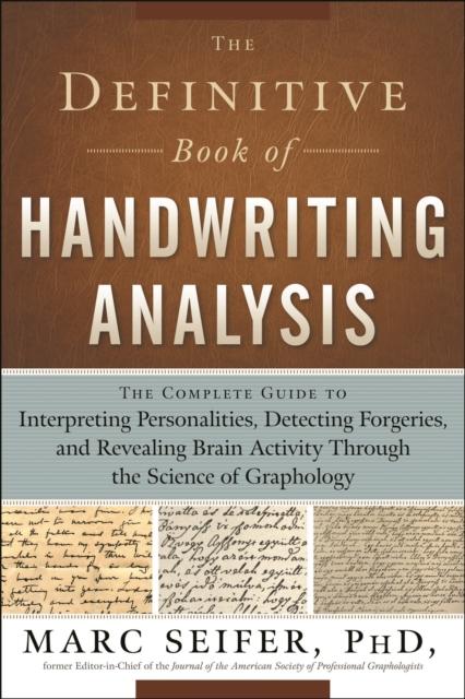 Definitive Book of Handwriting Analysis
