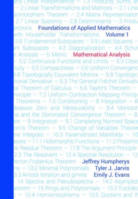 Foundations of Applied Mathematics, Volume 1
